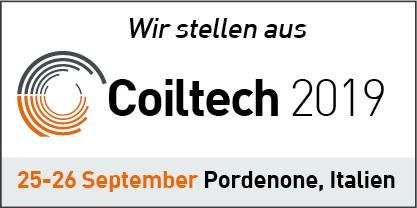 COILTECH Pordenone, Italia | 25-26 Settembre | Padiglione 7, A17/19